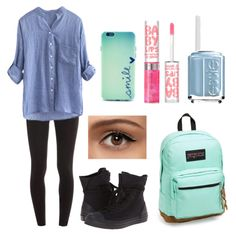 This is really similar to what I'm wearing. My Back To School edit. Follow me on Polyvore: @aahall-6326 ❥ ☻