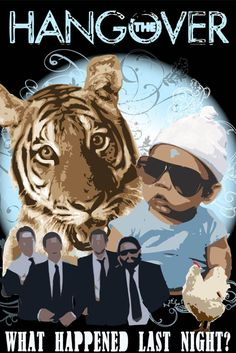 Movie Friday: 10 'The Hangover' Movie Posters, Just in Time for 'The Hangover Part III' #TheHangover