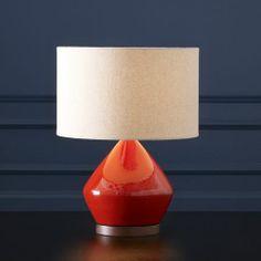Mia Table Lamp - Paprika | west elm