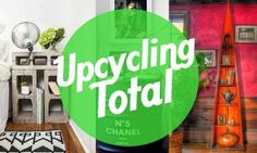 Best of Recycling – 75 upcycling ideas that will inspire you - Upcycled Crafts Upcycled Crafts, Easy Diy Crafts, Diy Home Crafts, Cheap Home Decor, Diy Home Decor, Tv Unit Interior Design, Recycling, Window Repair, Steel Bar
