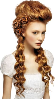 Vintage Hairstyles For Prom Rote Haare - Wedding Hairstyles For Long Hair, Unique Hairstyles, Vintage Hairstyles, Bridesmaid Hairstyles, Hairstyle Ideas, Japanese Hairstyles, Bridal Hairstyles, Steampunk Hairstyles, Victorian Hairstyles