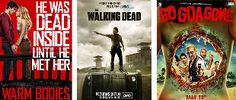 With the release of Warm Bodies, the 3D remake of the famous Evil Dead, the fourth season of The Walking Dead, and Bollywood's very first zom-com Go Goa Gone, the monsters of the year are zombies.