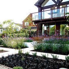 Riverside Garden by Berkshire garden designer Joanne Alderson Design Plant Design, Garden Design, Riverside Garden, Garden Inspiration, Garden Ideas, Outdoor Projects, Dream Garden, Portfolio Design, Landscape Design