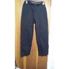 Ladies pants Straight leg  size 8 petite Dockers Pants Straight Leg