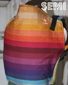 TULA Baby Carriers | Toddler Carriers — (Standard size) Semi Wrap Conversion Tula Baby Carrier-Girasol Deag Ta