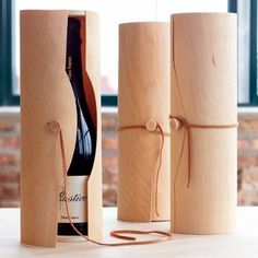 Dress up a wine bottle!