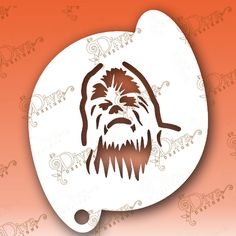 Face Painting - Chewbacca Stencil aka Chewy Cricut Stencils, Custom Stencils, Face Painting Stencils, Stencil Art, Chewbacca, Diva Design, Painted Faces, Glitz And Glam, Gift Certificates
