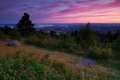 Sunset over Oslo by Trond Strømme, via Flickr