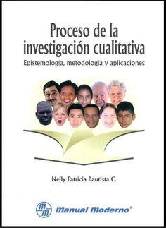 Libro: Proceso de la Investigación Cualitativa – RedDOLAC - Red de Docentes de América Latina y del Caribe -
