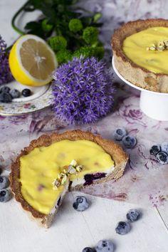St[v]ory z kuchyne | Lemon Tartalets with Blueberries (Gluten free/grain free)