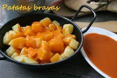 Con Tapas y a lo Loco: Patatas bravas