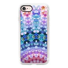 COSMIC KISS by Monika Strigel for Galaxy S6 - iPhone 7 Case, iPhone 7... ($40) ❤ liked on Polyvore featuring accessories, tech accessories and android case