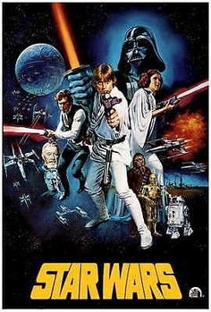 STAR WARS Movie Poster [Licensed-NEW-USA] 27x40