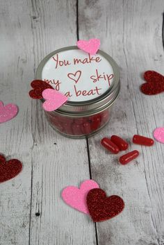 You make my heart skip a beat Hot Tamale Valentine - A Spark of Creativity
