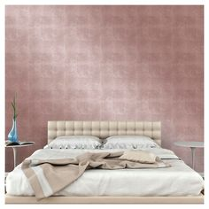 Devine Color Metallic Leaf Peel and Stick Wallpaper Karat - Project 62 , Gold Silver Painted Furniture, Metallic Gold Color, Silver Color, Pink Color, Metallic Wallpaper, Paintable Wallpaper, Wall Wallpaper, Accent Furniture, Door Furniture