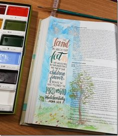 My Weekly Bible Journaling #18 | Paulette's Papers Book of Joshua