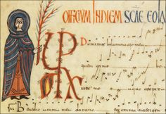 León, Archivo de la Catedral, ms. 8 Antiphonarium mozarabicum Dated early 10th c. / additions from the 10th and 11th c. (c. 1060)