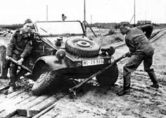 Even the reliable VW Type 82 Kubelwagen would fail under the emense wear and tear of constant off road usage