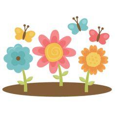 Flores - Miss Kate Cuttables | Categorías de productos Scrapbooking SVG Archivos, Scrapbooking Digital, clipart lindo, diarios SVG Freebies, Clip Art