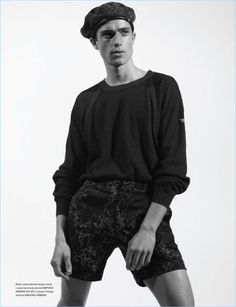 Arena Homme  Looks Ahead to Spring with Emporio Armani