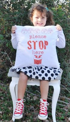 Kids Christmas Throw Pillow Covers, 2013 Decorative Print Throw Pillow #2013 #christmas #throw #pillow #cover www.loveitsomuch.com
