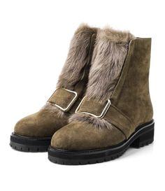 Зимние ботинки цвета хаки 19448 Balidoner фото 2