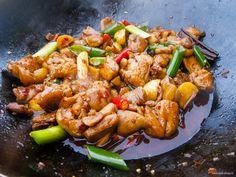 Курица стир-фрай по-китайски - рецепт на Российский Wok-Shop