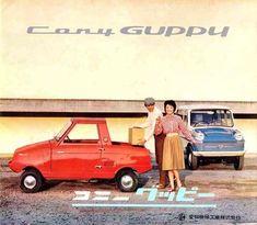 All-Cars Charly (Snuggy) | Sumally Japanese Cars, Vintage Japanese, Small Pickup Trucks, National Car, Car Brochure, Guppy, Car Advertising, Small Cars, Car Photos