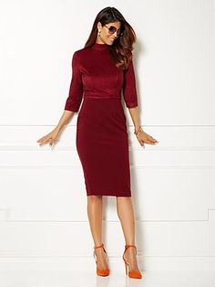 Shop Eva Mendes Collection - Auberge Dress . Find your perfect size online at the best price at New York & Company.