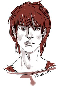 "Darrow (""Red Rising"" by @pierce-brown) cool-down sketch"