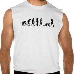 Evolution Bachelor party Wedding Sleeveless Shirts Tank Tops