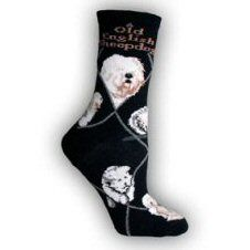 Old English Sheepdog Socks UK Size 7 to 10 Old English Sheepdog, Novelty Socks, Dog Design, Dog Breeds, Presents, Cushions, Tapestry, Pets, Search