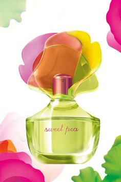 Playful fragrance that lasts & lasts ... #SweetPea