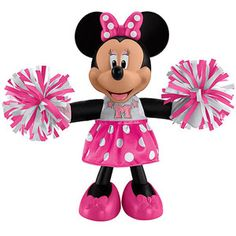 Fisher-Price Cheerin' Minnie Mouse Doll