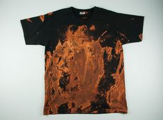 Koszulka z motywem ognia - Martwestudio - Moda steampunk