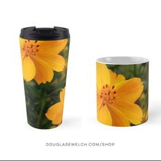 Brighten up your mornings with these Golden Coreopsis Mugs and More!  Available exclusively from http://ift.tt/2i1uX76  #Flowers #Plants #Outdoors #Nature #Garden #Coreopsis #mug #products #cards #clothing #arts #crafts #technology #iphone #cases #bags #totes #photography #prints #home #housewares #journals #pillows
