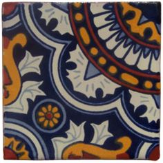 "12 4"" x 4"" Talavera Handpainted Mexican Tiles. Please Note: Your item is custom made for you by an Artisan in Mexico. Your item will ship in less than 10 days. Fedex Domestic Shipping with Door to doo"