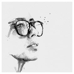 Spontaneous and Realistic Black and White Pencil Portraits