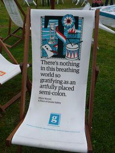 Edinburgh Festival Book Chair
