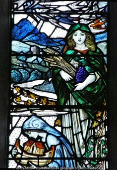 Stained Glass by Louis Davis, Colmonell... (C) Harriet Ellis :: Geograph Britain and Ireland