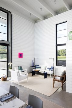 """""""The objective was to create a streamlined, minimalist space that included an open living area, modestly sized master suite, and thoughtful storage options,"""" said 3north, a studio based in Richmond and with offices in San Francisco."""