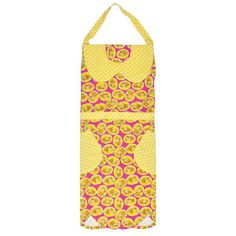 I pinned this Children's Apron in Yellow Floral from the Collection Kolore event at Joss and Main!