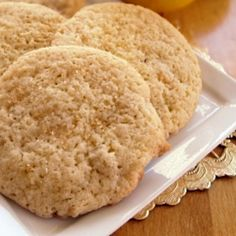 Alicia's Wheat-Free, Lactose Free Almond Surprise Cookies Recipe
