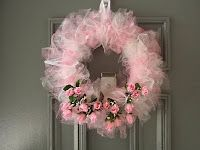 Dollar Tree Bath Sponge Wreath