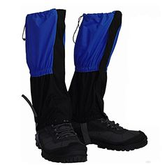 YUEDGE Unisex Sealed Velcro Zippered Closure Water Proof High Leg Gaiters Essential for Outdoor FishingResearchHunting Trimming grass ** Check out this great product.