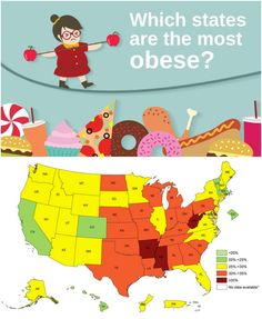 CDC releases new obesity map, showing which parts of the country are most overweight.