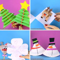 Weihnachtsbasteln für Kinder - Jolly Christmas Crafts for Kids - Crafts Christmas Crafts For Kids, Diy Christmas Ornaments, Kids Christmas, Holiday Crafts, Handmade Ornaments, Christmas Trees, Natural Christmas, Christmas Gifts, Crafts For Kids To Make