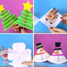 Weihnachtsbasteln für Kinder - Jolly Christmas Crafts for Kids - Crafts Kids Crafts, Crafts For Kids To Make, Easy Crafts, Gifts For Kids, Art For Kids, Kids Diy, Creative Crafts, Christmas Ornament Crafts, Christmas Crafts For Kids