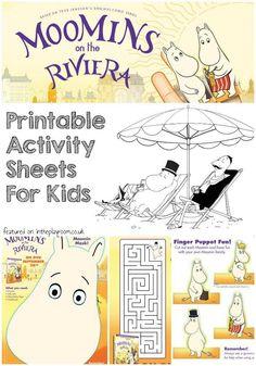 Moomins Printables A