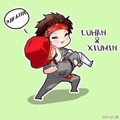#xiuhan #lumin #fanart